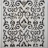 Distressed Wallpaper-Stensiler/sjablonger fra Fargegladehjem