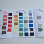 Håndmalt Nordic Chic fargekart