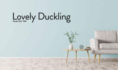 Lovely Duckling – Veggmaling