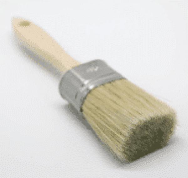 Top Coat Pensel Naturbust-Pensler fra Fargegladehjem