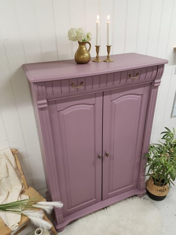 Skap malt i fargen Lilac Blossom