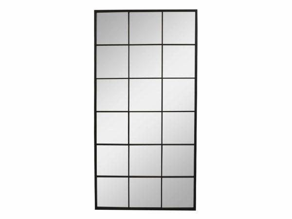 Stort Factory speil 3 - 3900kr Høyde: 180 cm Lengde: 90 cm Bredde: 2,5 cm Farge: Antikk sort Ta kontakt for leveringstid og fraktpriser