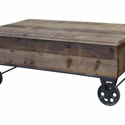 Sofabord på hjul