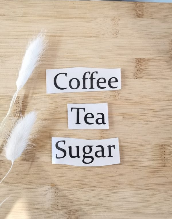 Coffee Tea Sugar
