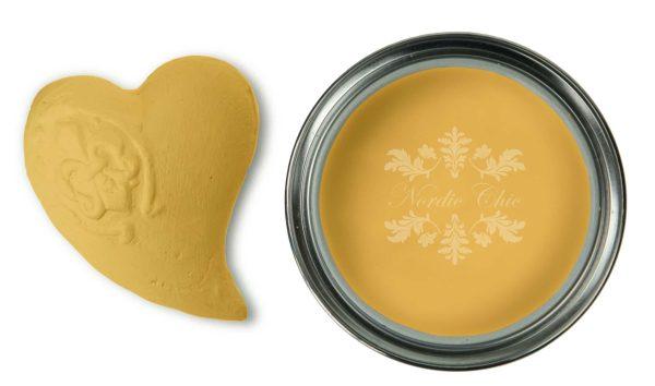 French Mustard - Outdoor & More 2 - Stilig og trendy sennepsgul. Denne malingen kan brukes både innendørs og utendørs, og du trenger IKKE å forsegle den. Altså du trenger ikke og avslutte med voks eller lakk:) 750ml