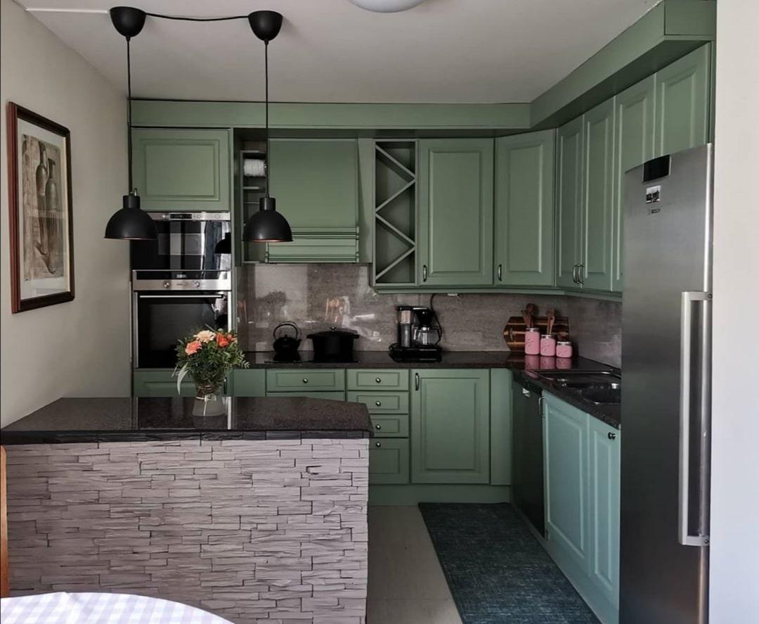 Grønt kjøkken